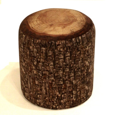 Furnishings On Pinterest Log Furniture Stump Table And End Tables