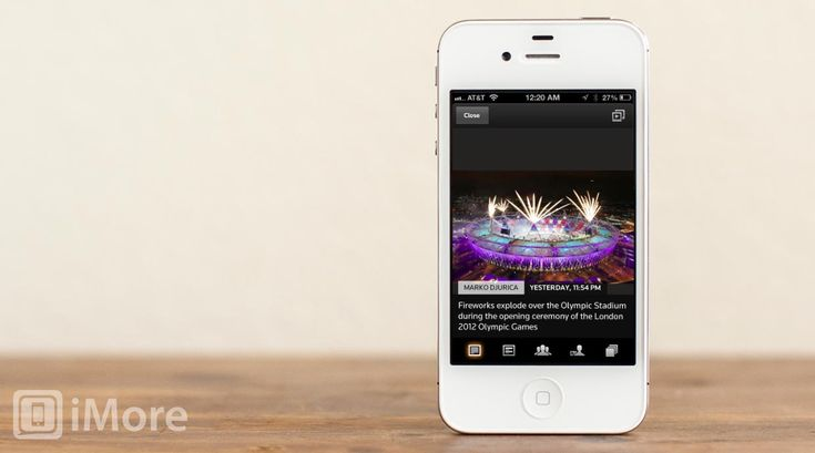 How to follow the London 2012 Summer Olympics on your iPhone and iPad - designed by steve keane