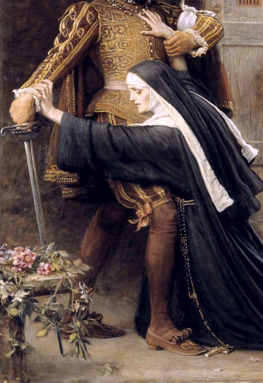John Everett Millais - Mercy: St Bartholomew's Day, 1572 (1886)