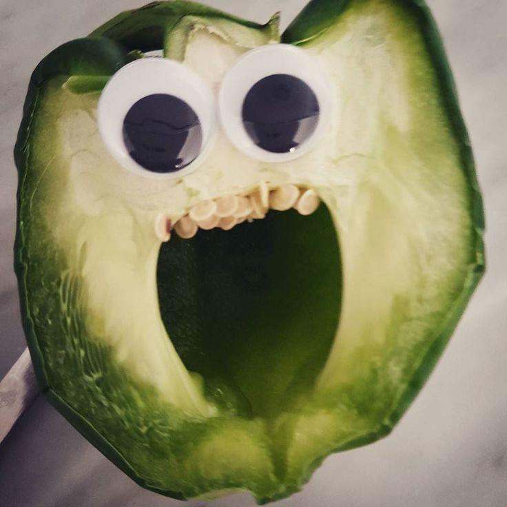 När grönsakerna stirrar tillbaks...
