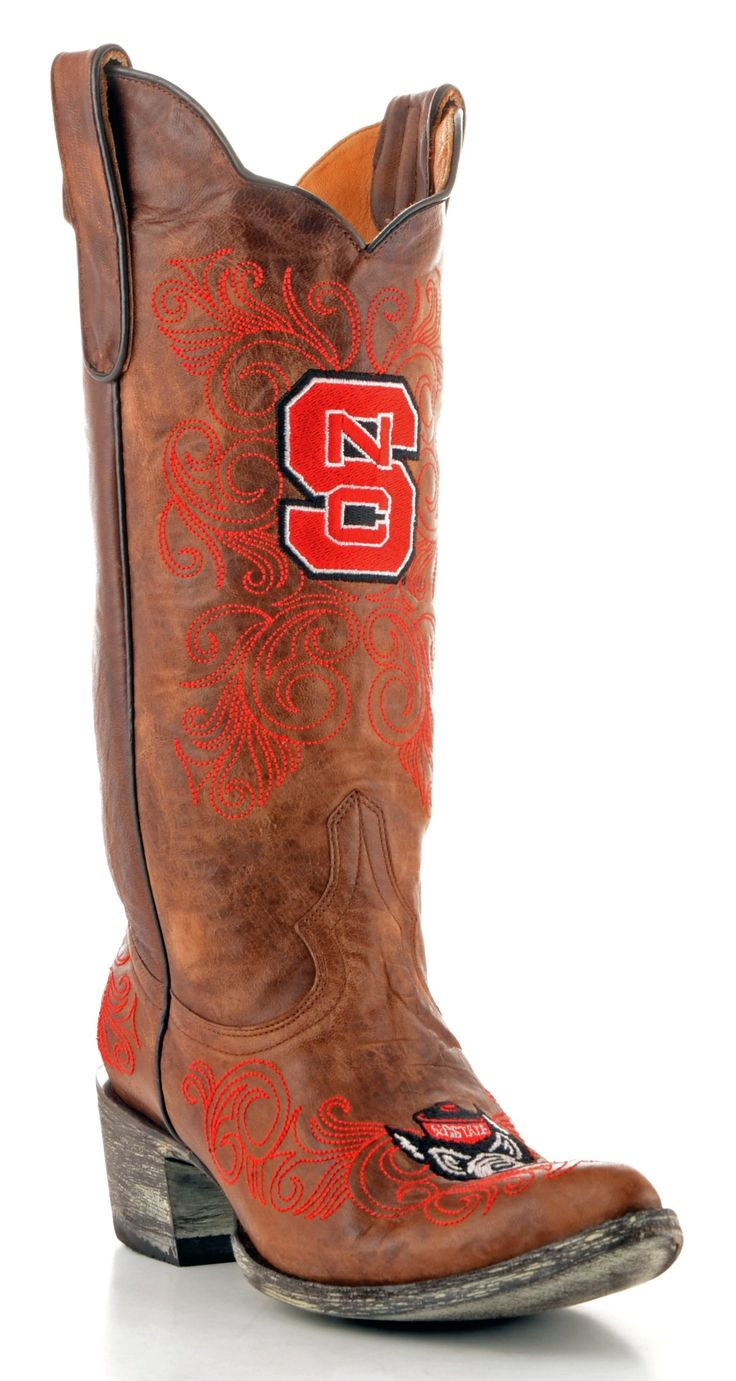 Womens NC State boots (figured my NCSU girls would want to see these)