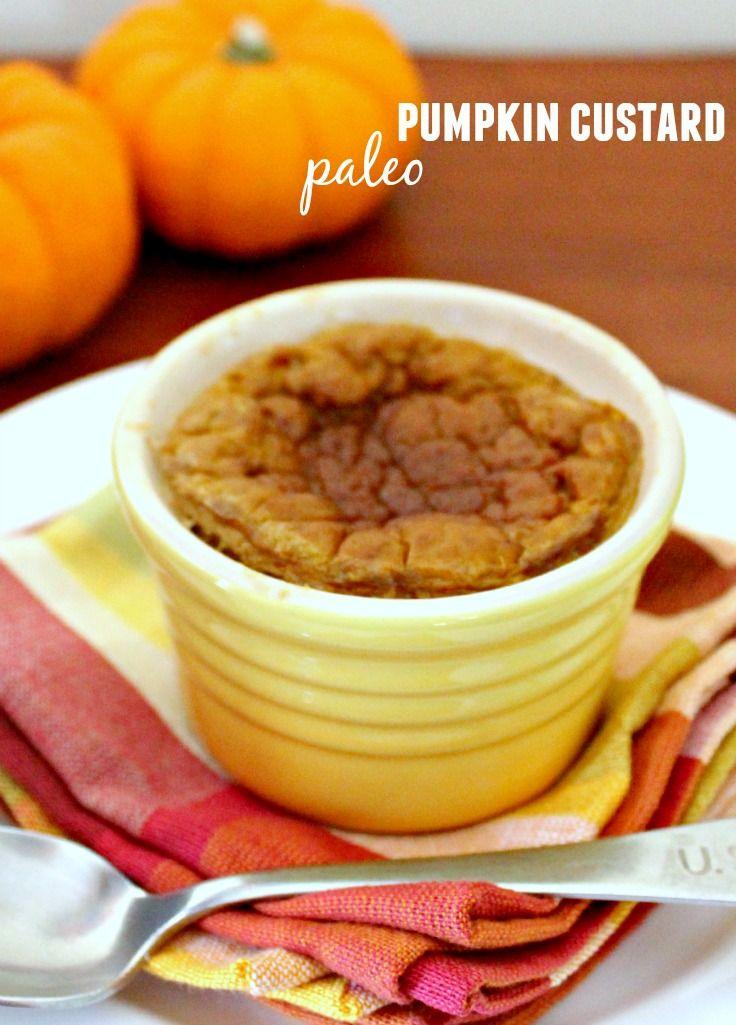 Guilt Free Easy Pumpkin Custard | Recipe | Pumpkin custard ...