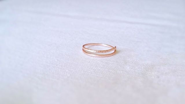 diy easy handmade wire ring