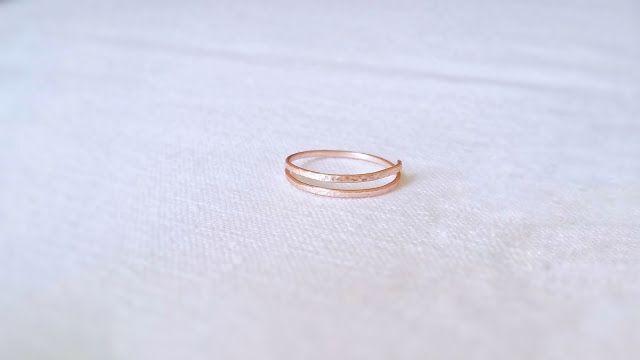 diy easy handmade wire ring