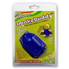 Smoke Buddy Blue Whole Box of 12 Personal Air Filter / Purifier Brand New with Free I'm Baked Bro & Doob Tubes Sticker