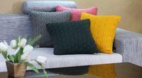 gratis verzending zwangere oude vintage kussens breien kussenhoes ikea stijl 18x18in 1pc voor thuis decoratieve 2015asc011j