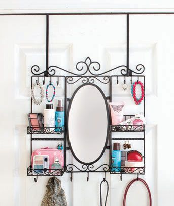Hanging Mirrored Vanity