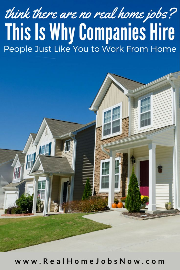 There are plenty of legitimate work from home opportunities! Here's why...
