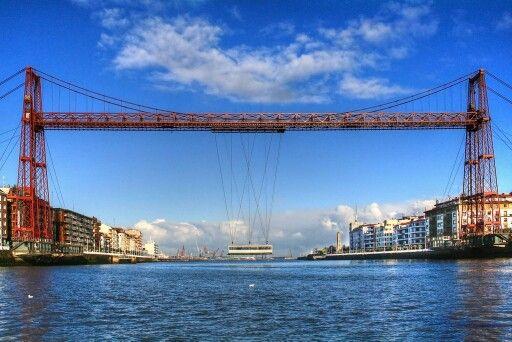 Getxo. Puente de Vizvaya