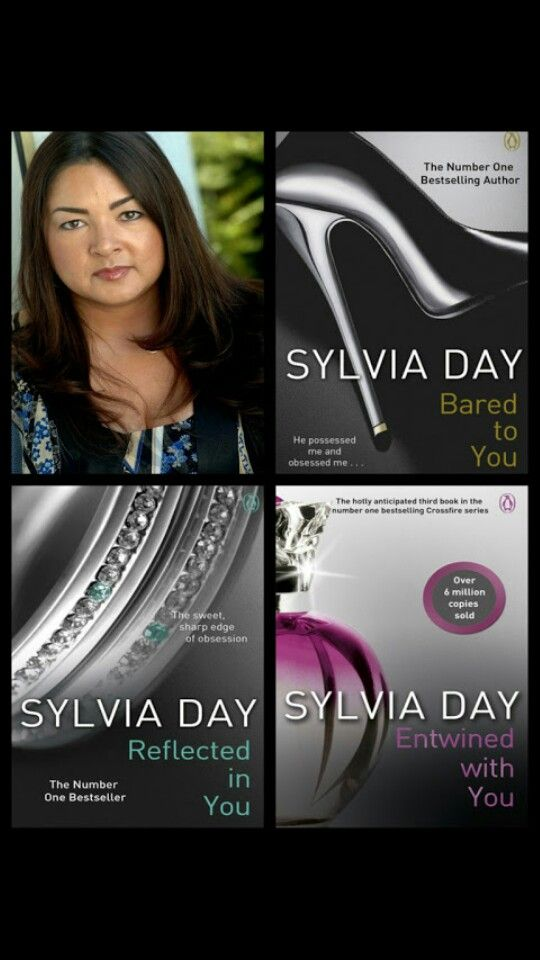 The Crossfire Series by Sylvia Day: One of my favourite authors & series of books. Love, Love, Love... Gideon Cross need I say anymore! ;P