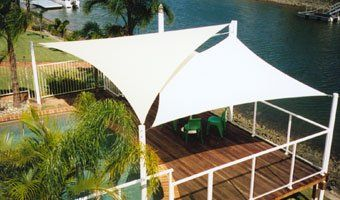 shade sail, white - Google Search