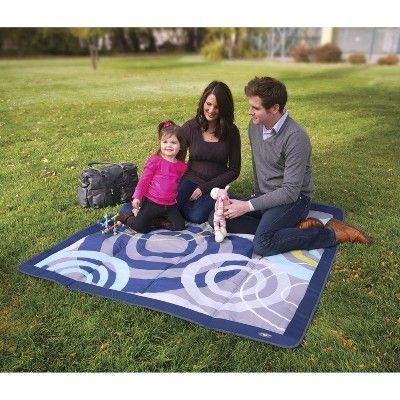 JJ Cole Outdoor Blanket - Blue Orbit