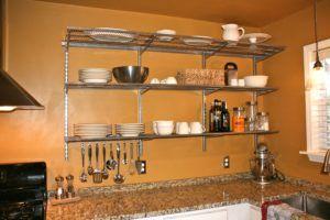 Metal Wall Shelving Kitchen
