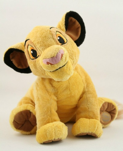 Disney The Lion King Young Simba 13 in. Plush Stuffed Animal Toy #Dotted_Lion