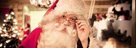 Santa's secret grotto, Lapland