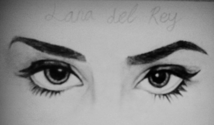 Lana del Rey, eyes