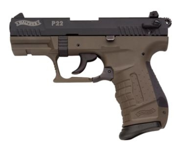 Walther® P22® .22LR Pistol w/Military Green Finish | Bass Pro Shops