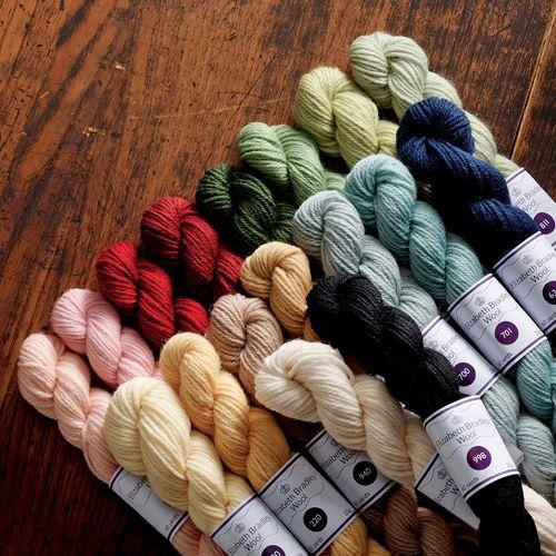 363 Shades of Elizabeth Bradley Tapestry Wool