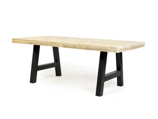 Tafel Arth | ruw staal | industrieel|