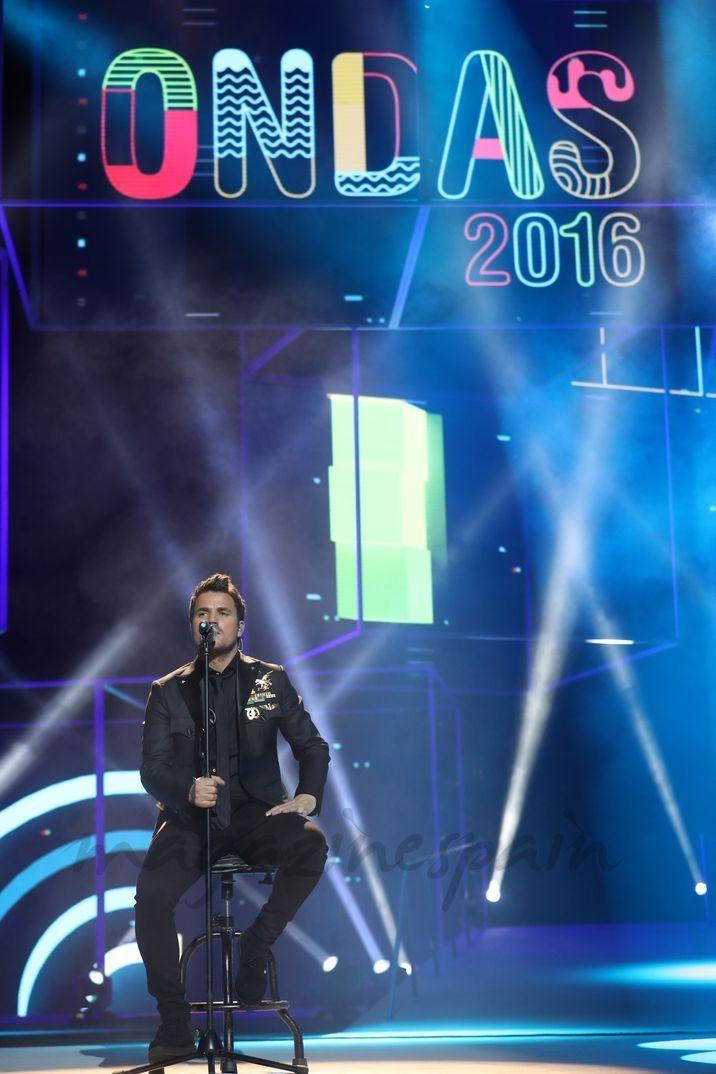 Dani Martín © Premios Ondas 2016