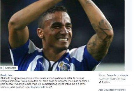 FC Porto Noticias: Danilo agradece seleção ao FC Porto