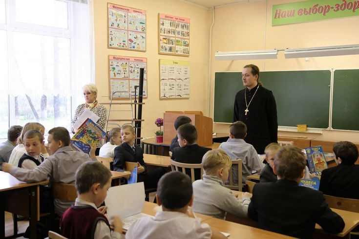 Посещение Коробчеевской школы-интерната