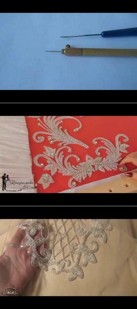 (9) Люневильская вышивка.Как сшить платье с эффектом обнаженного тела на перегибистую фигуру. - YouTube