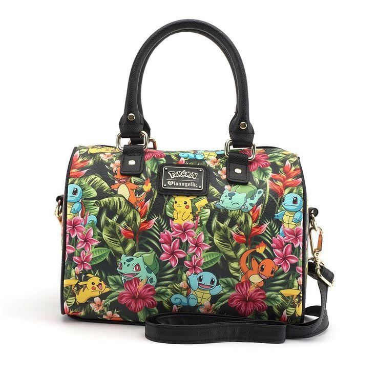 Loungefly x Pokémon Tropical Starter Duffle Bag - Whats New