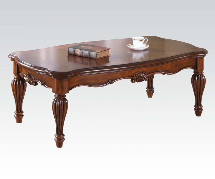 ACME TRADITIONAL COFFEE TABLE SET 10290