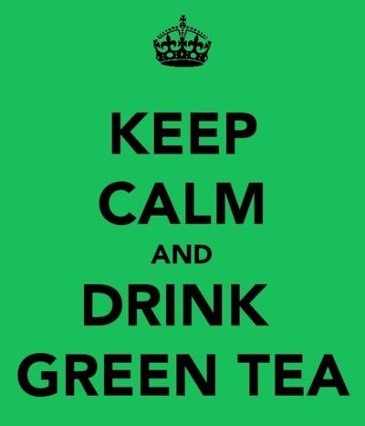 I kill some green tea. Loose leaf. Genmaicha w/ matcha powder.