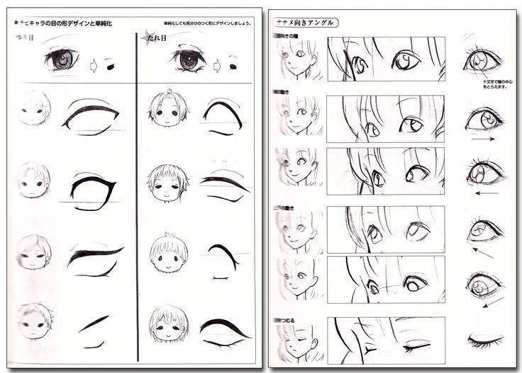 How to Draw Manga Characters' Facial Expressions Reference Book - Anime Books
