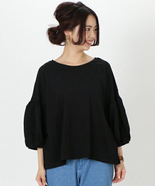 Kastane(カスタネ)の「バルーン袖プルオーバー(Tシャツ・カットソー)」です。このアイテム着用のコーディネートをチェックすることもできます。