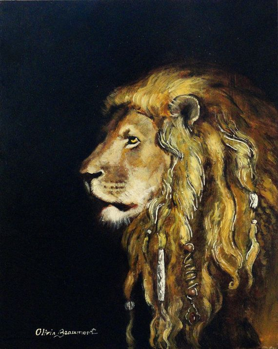 Samson ACEO LE by BeaumontStudio on Etsy, $5.50  Judith, The Lioness loves this print!