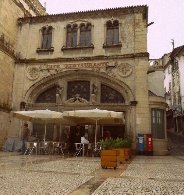 Café Santa Cruz - Coimbra