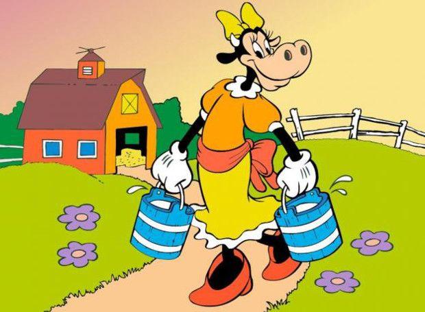 Κλάραμπελ: Ηρωίδα των κόμιξ, που κινείται στον περίγυρο του Μίκι Μάους. Το πρωτότυπο όνομά της στα αγγλικά είναι Clarabelle Cow.
