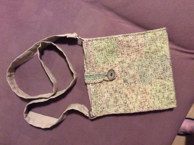 Tkaná taška - žebradlo