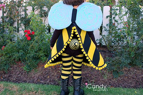 Handmade Costume Series: DIY Bumble Bee Costume Tutorial - Andrea's Notebook