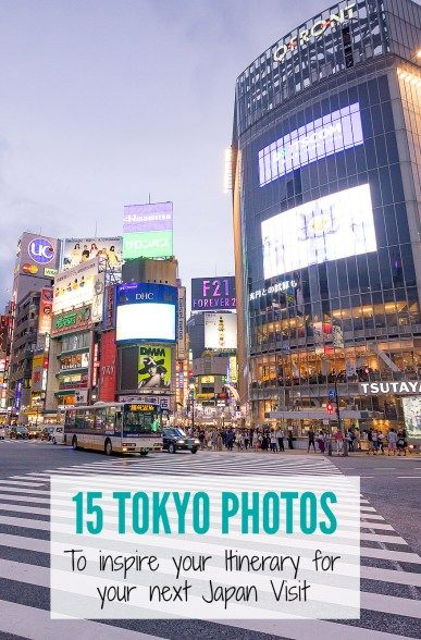#Travel to #Tokyo #Japan can be overwhelming. Check out these 20 photos for inspiration on your Tokyo itinerary. #travelJapan #Tokyotravel #luxurytravel #Tokyothingstodo #exploreTokyo
