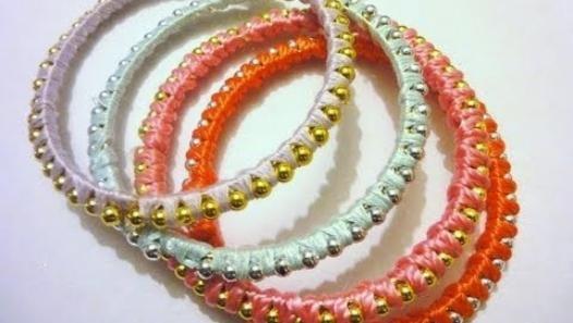 how to make stackable bracelets
