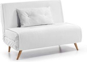 Maak kennis met de Tupana slaapbank van het Spaanse merk LaForma. Deze slaapbank heeft een moderne uitstraling, waardoor deze goed te gebruiken is in een hedendaagse woonruimte waar je een extra slaapplek nodig hebt. Het materiaal dat is gehanteerd om de slaapbank zo comfortabel te maken is een metalen frame dat gemakkelijk uit te vouwen is. Het toegepaste materiaal dat is gebruikt voor het matras is schuim, dit zorgt voor comfortabele ligging tijdens uw nachtrust. Deze slaapbank is alleen…