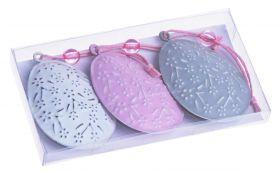 Пасхальные украшения, чтобы повесить :: :: КПЛ 3 металлические скобы яйца 11X6X1.2CM