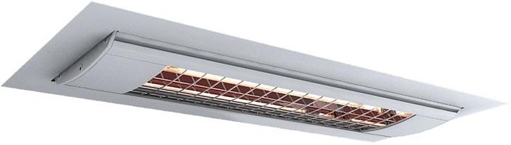 Solamagic elektrische, infrarood inbouw terrasverwarming 1400 Watt