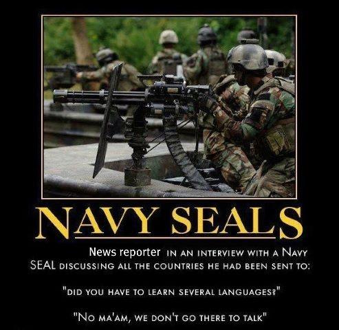 Navy Seals THANK YOU!!