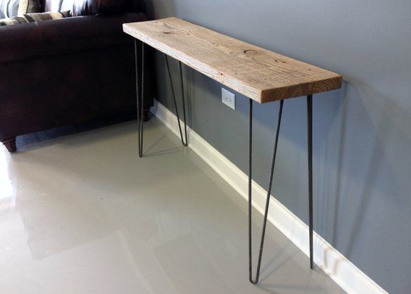 Reclaimed Wood Console Table - Free Shipping! in Upper East Side, New York, NY, USA ~ Krrb