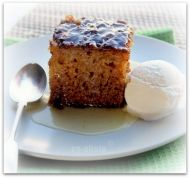 Heavenly recipe for a traditional South African dessert - Malva Pudding. Serve with a great big spoon of ice cream.