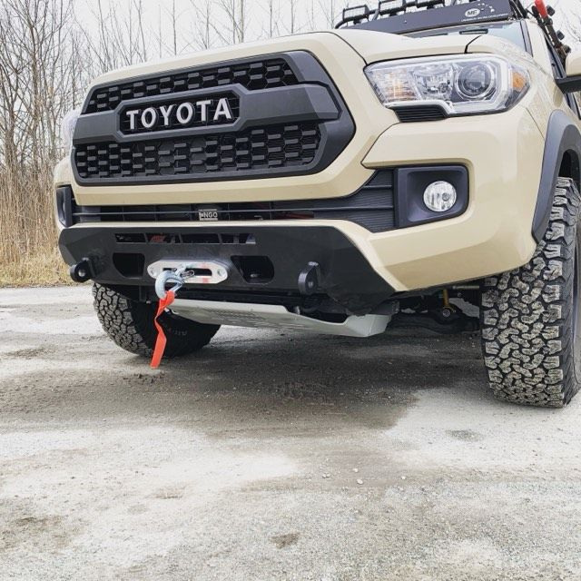 2016 2020 Toyota Tacoma Low Profile Front Bumper In 2020 Toyota Tacoma Tacoma Bumper Tacoma Truck