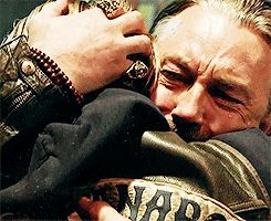 This is absolutely, horrifically mean... Just watching Chibs tears... Kurt Sutter never ceases to rip out my heart while it still beats...