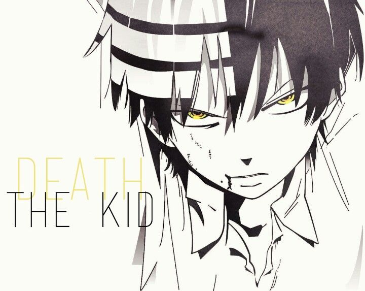 Death The Kid #soul Eater (strips Are On The Other Side Of