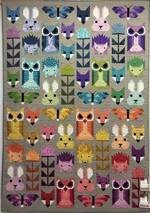 Fancy Forest Quilt Kit
