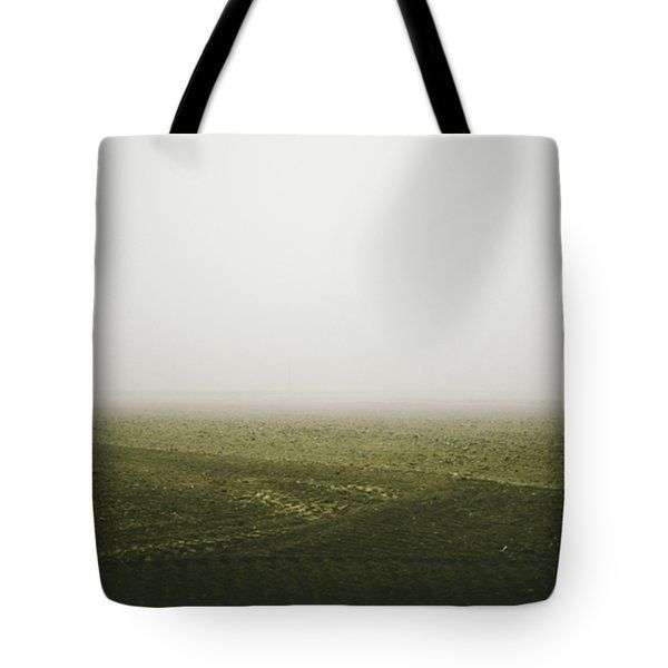 Foggy Autumn Morning Tote Bag by Cesare Bargiggia